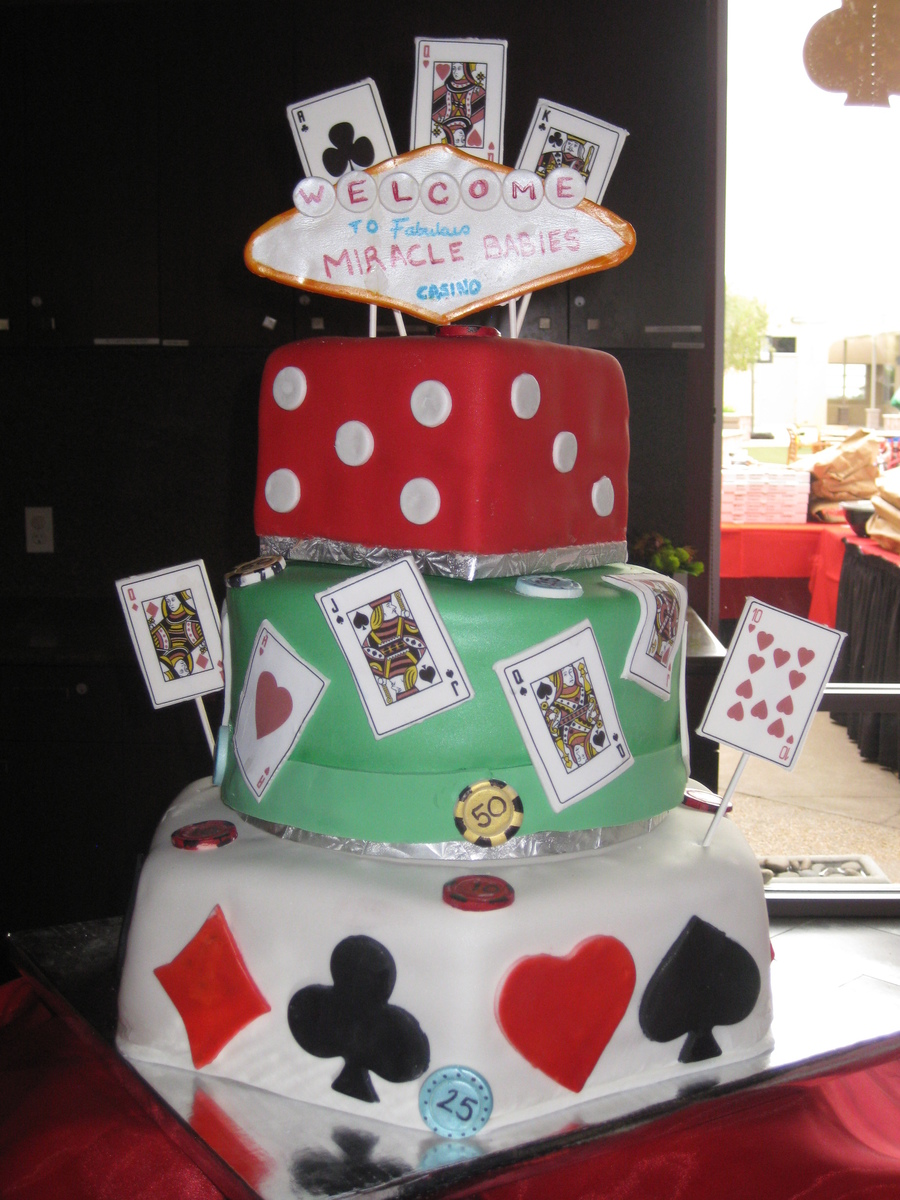 casino themed cake cakecentral