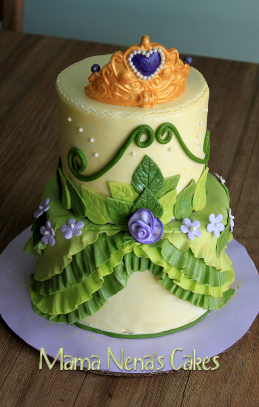 Princess Tiana From Princess And The Frog Cakecentral Com