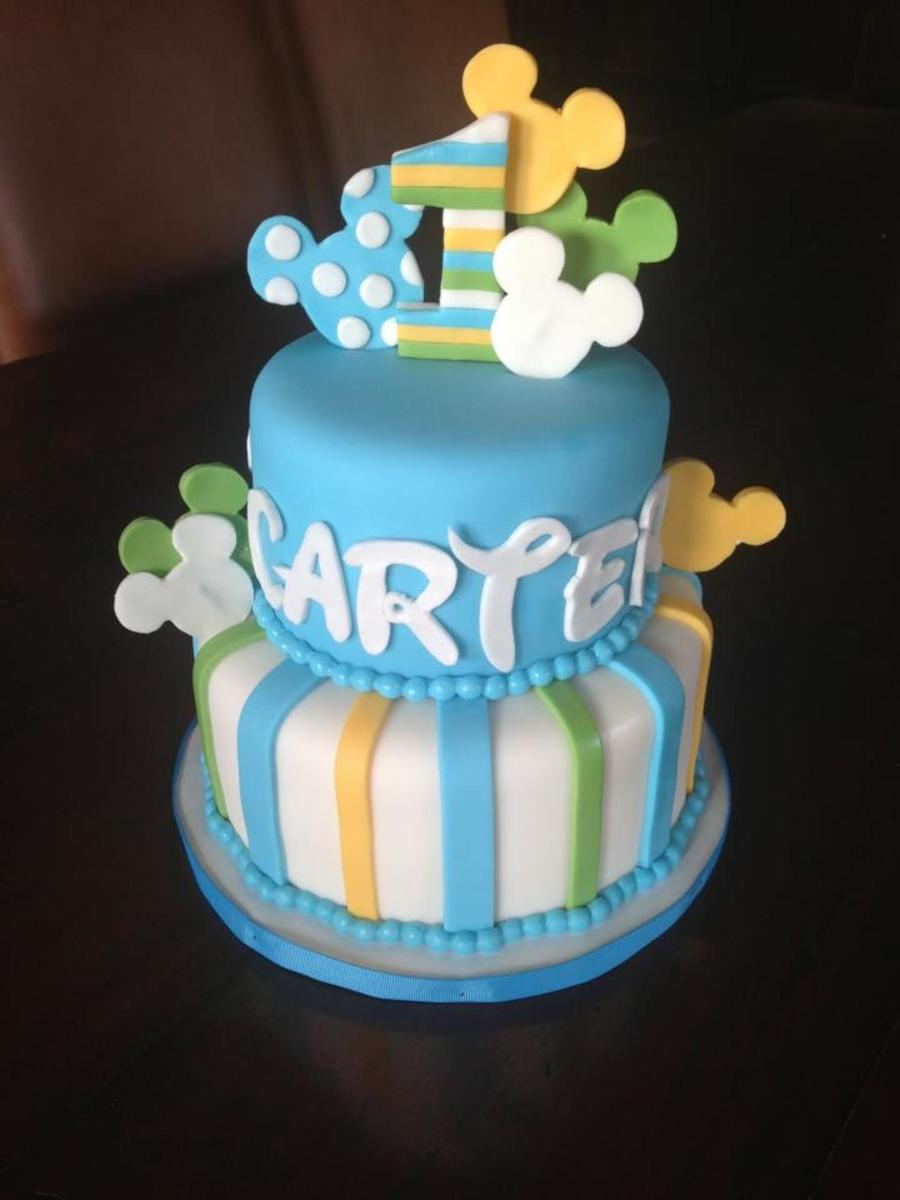 Cake Decorating Ideas For Baby S First Birthday