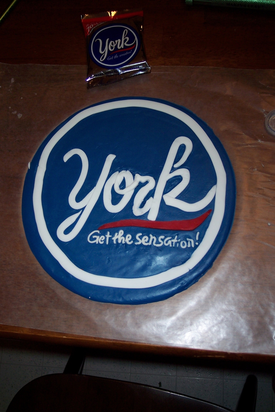 York Peppermint Patty Cake Filling Recipe