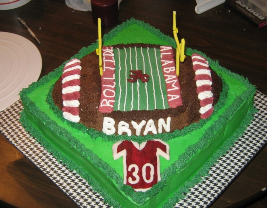 Brother-N-Law's 30Th on Cake Central