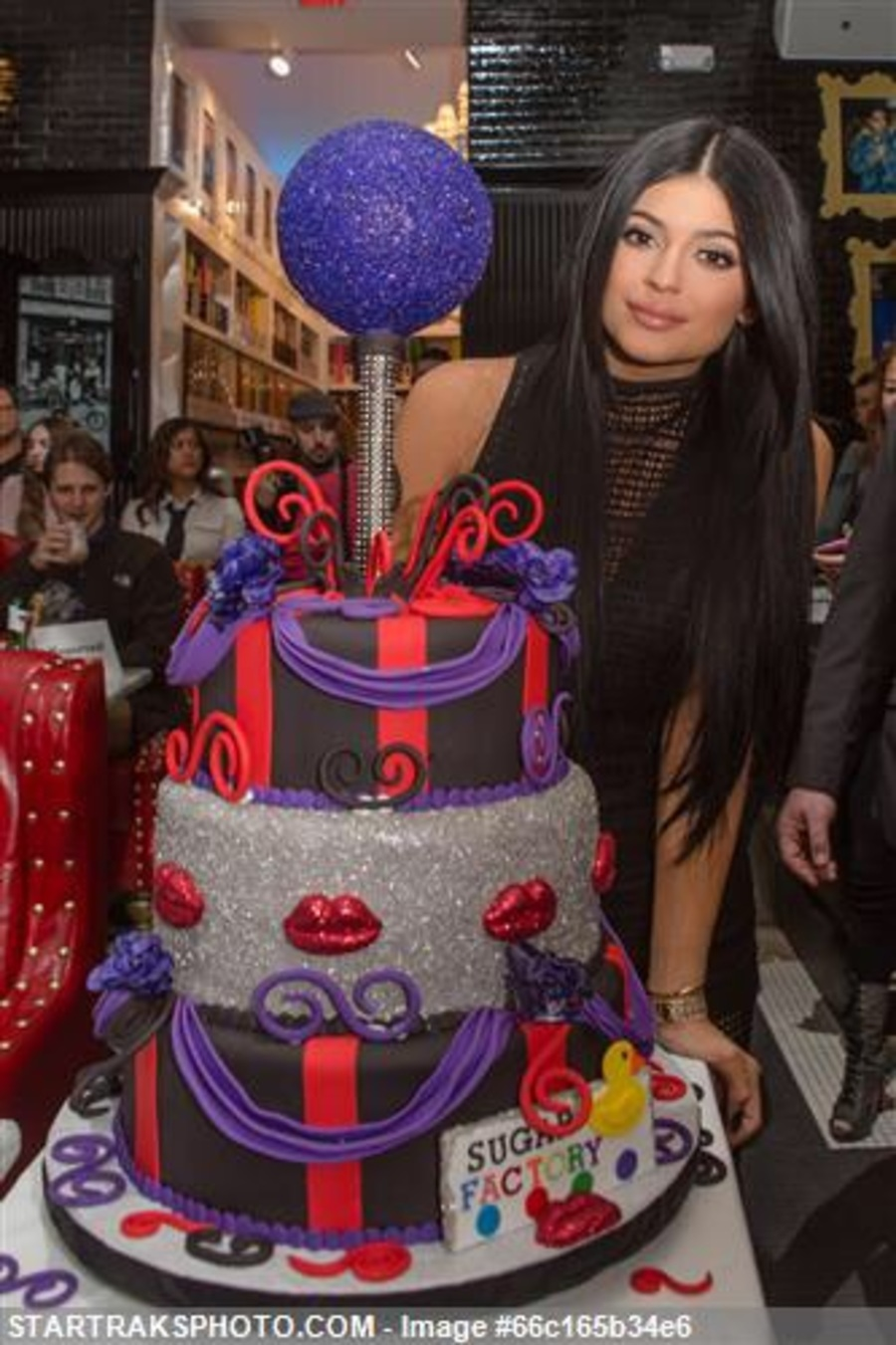 Cake I Did For Kylie Jenner At The Sugar Factory Rosemont Grand