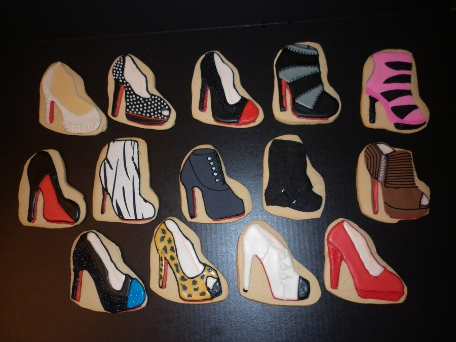 Shoe Cookies on Cake Central