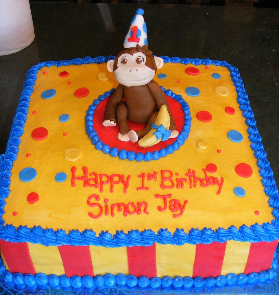 Curious George on Cake Central