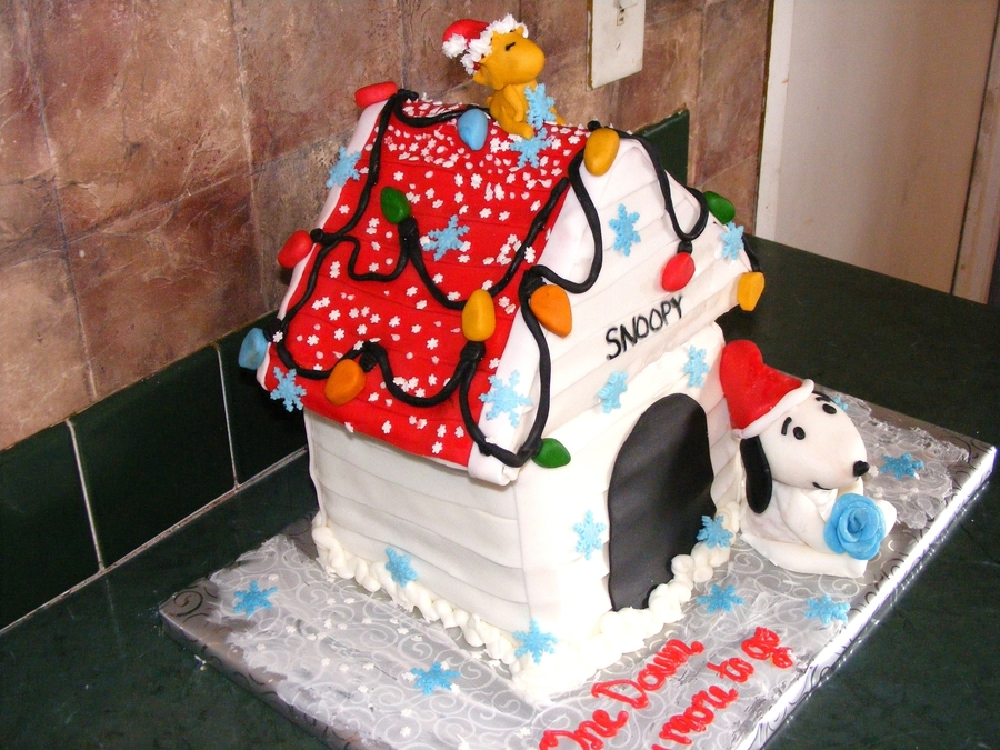 Snoopy Anniversary on Cake Central
