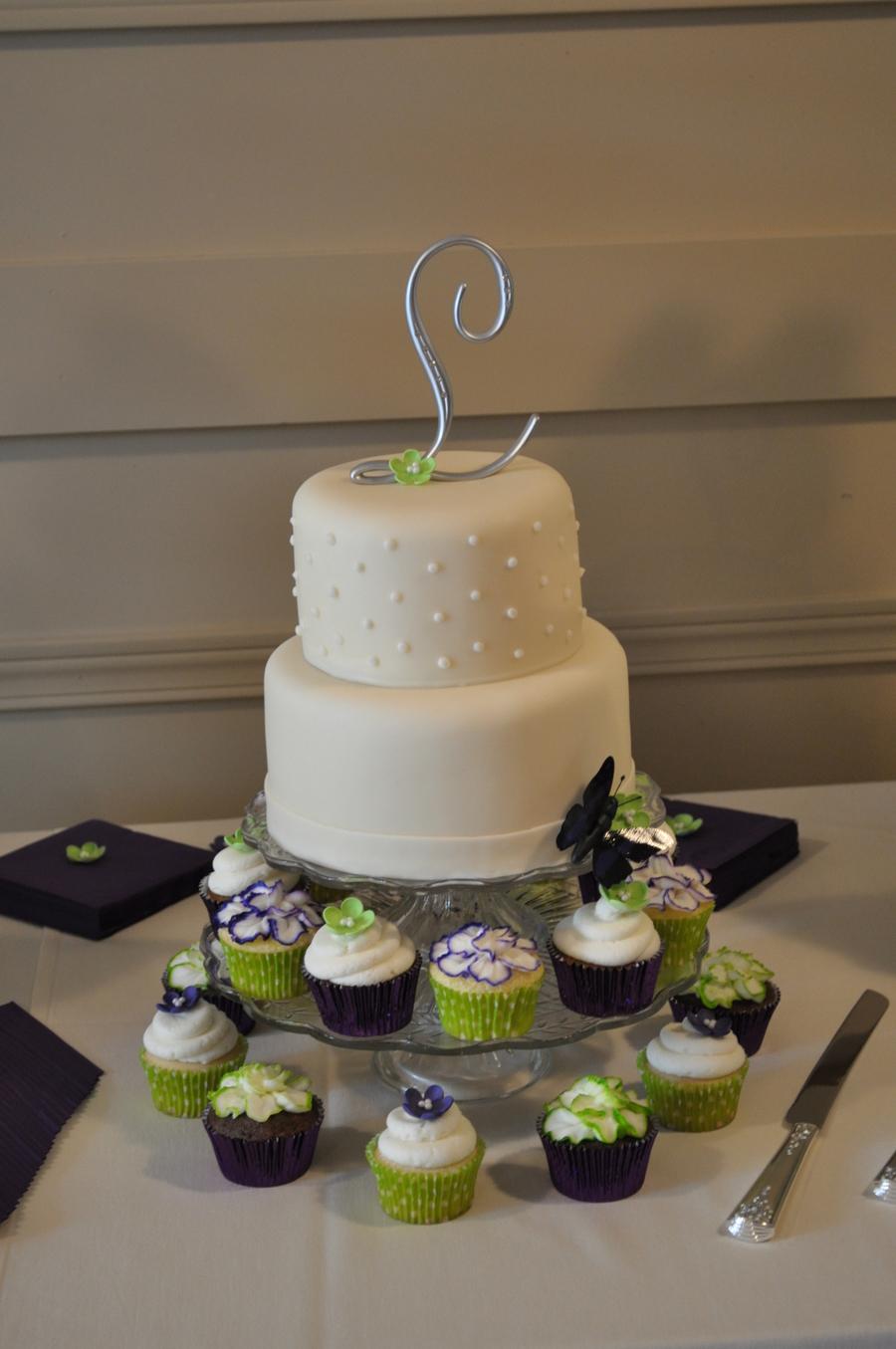Plain Tiered Cake