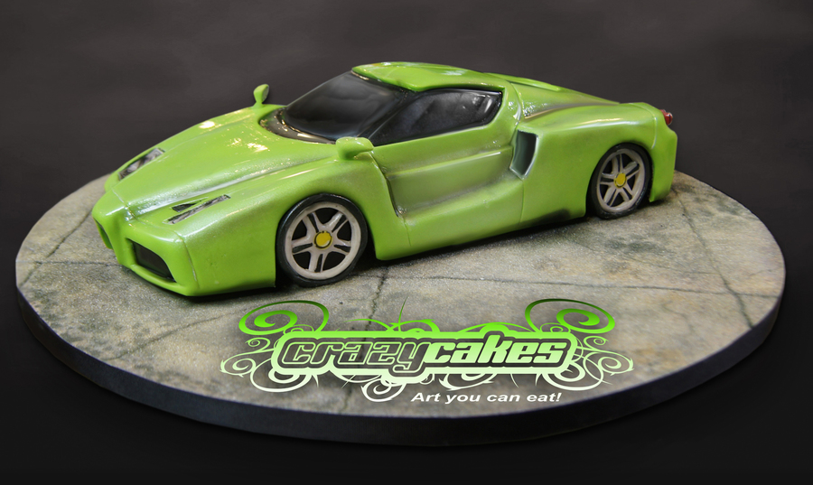Ferrari Enzo on Cake Central