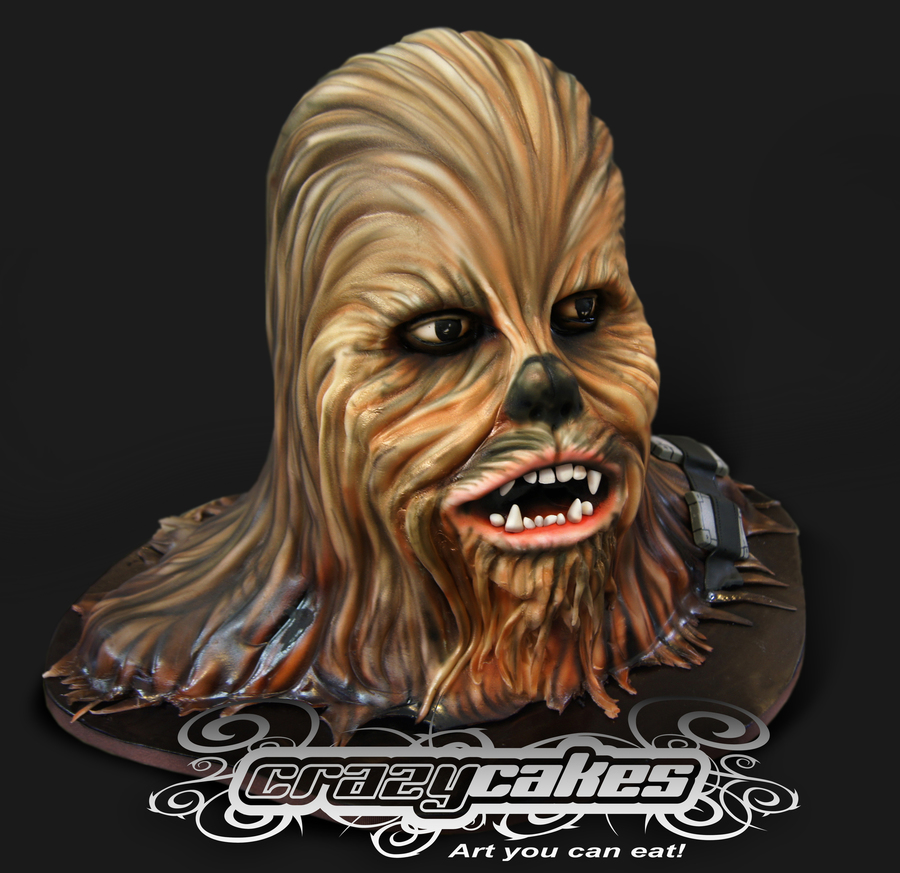 Star Wars Chewbacca Cake on Cake Central
