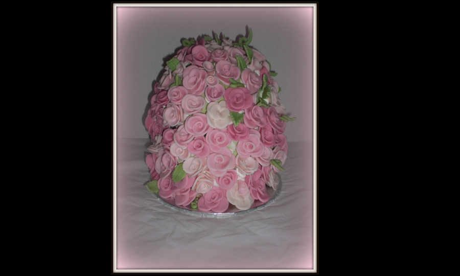 Pink In Bloom on Cake Central