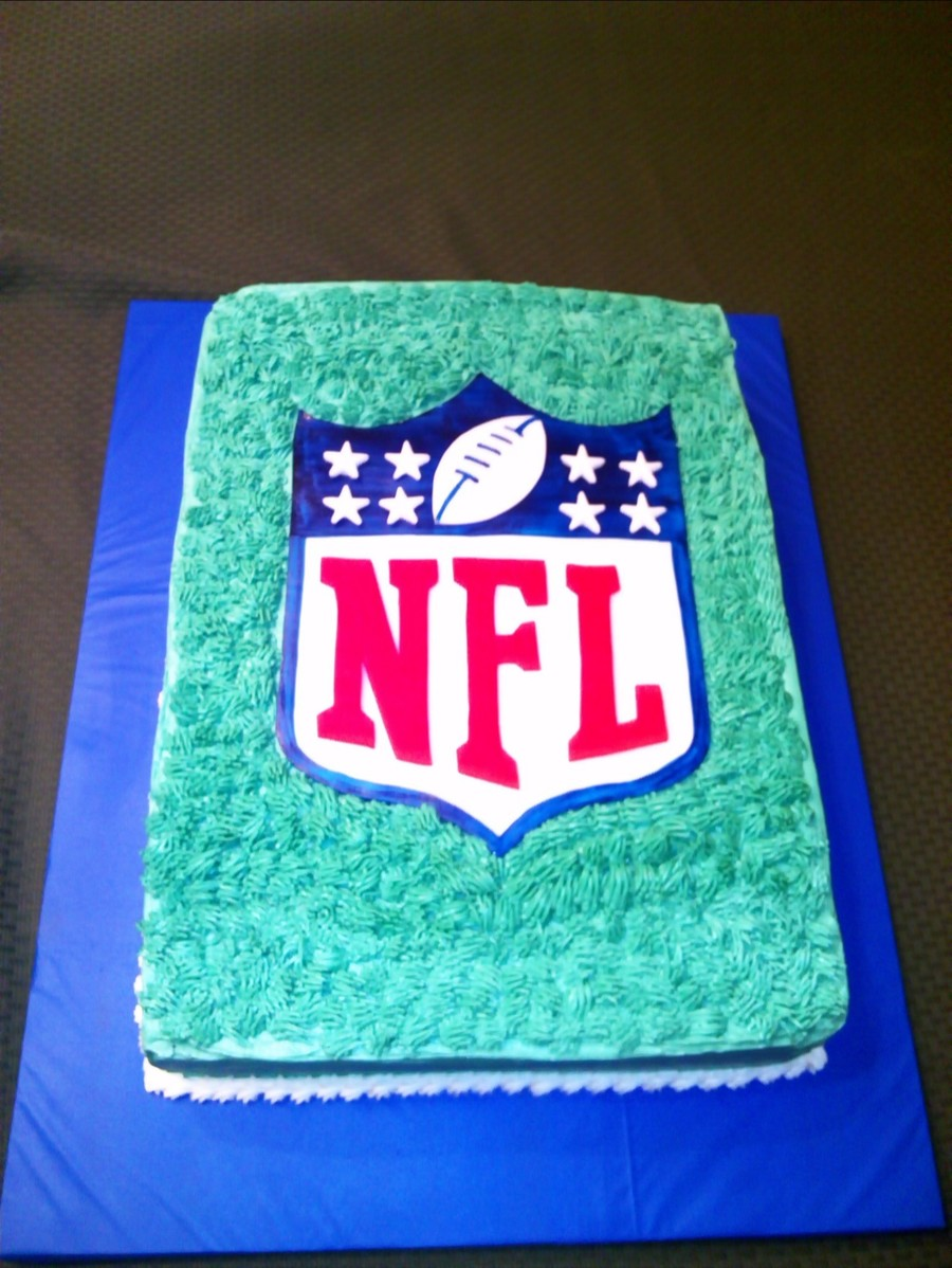 Nfl Draft Party Cake CakeCentralcom