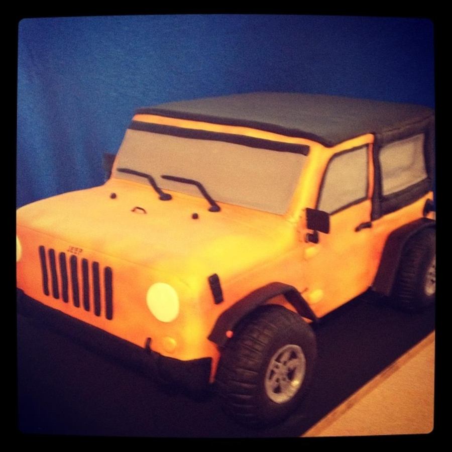 3D Jeep Cake on Cake Central