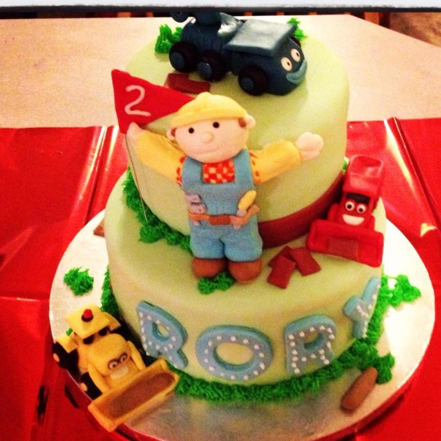 Bob The Builder Cake on Cake Central