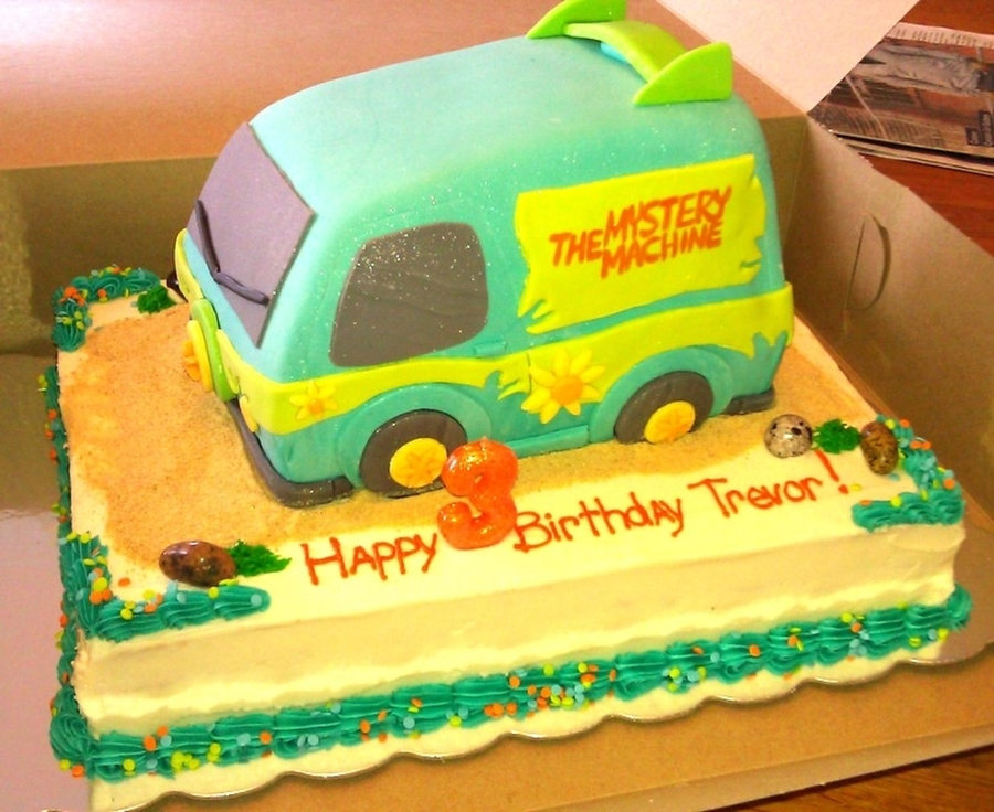 Scooby Doo.....where Are You!?  on Cake Central