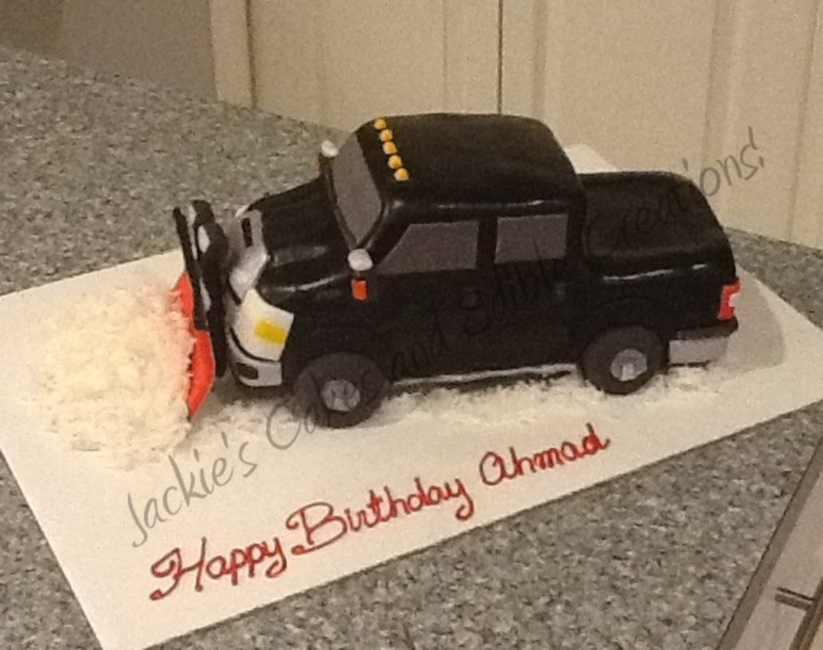 How To Make A Pick Up Truck Birthday Cake