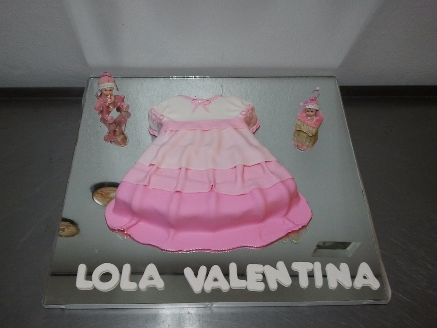 Baby Girl Dress  on Cake Central