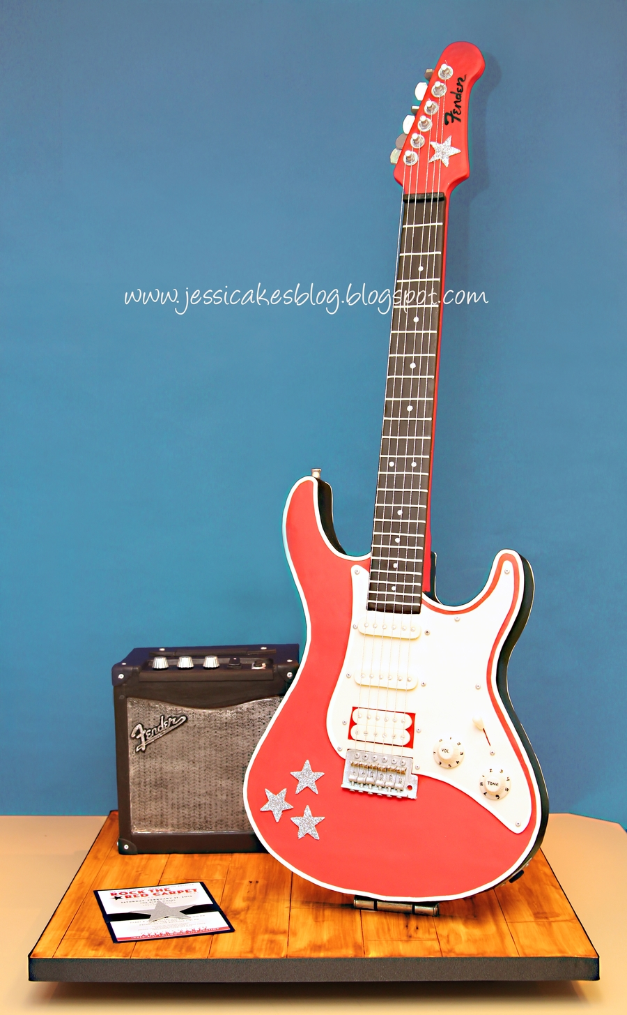 Stand Up Electric Guitar Cake Cakecentral Com