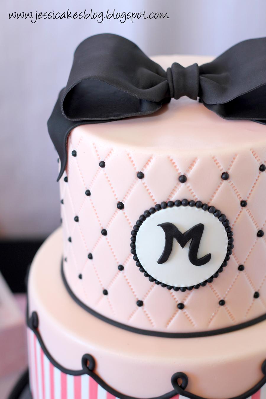 Fashionista Birthday Cake - CakeCentral.com