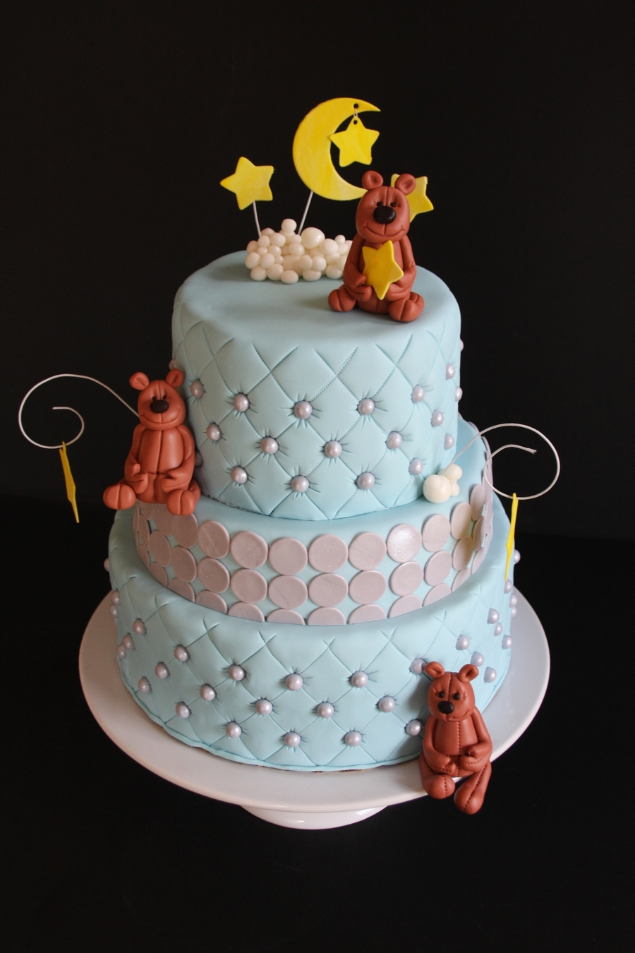 Linday's Baby Shower Cake on Cake Central