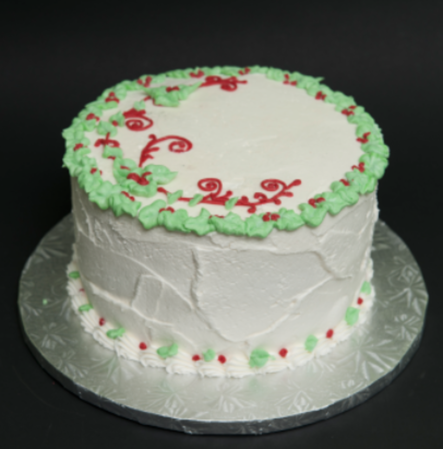 Christmas Roughpng on Cake Central