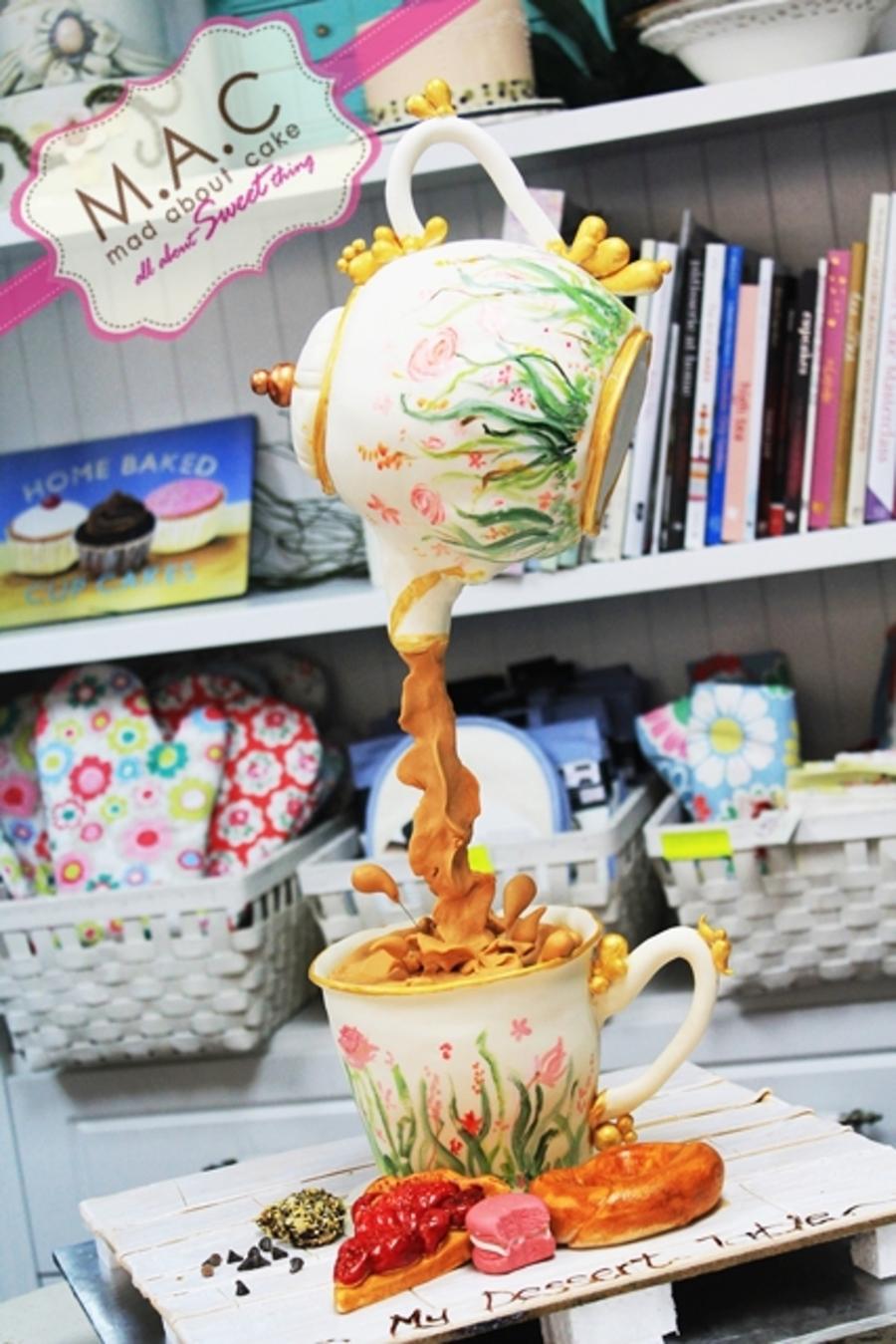 Hangging Tea Pot Cake Cakecentral Com