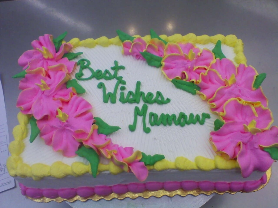Best Wishes on Cake Central
