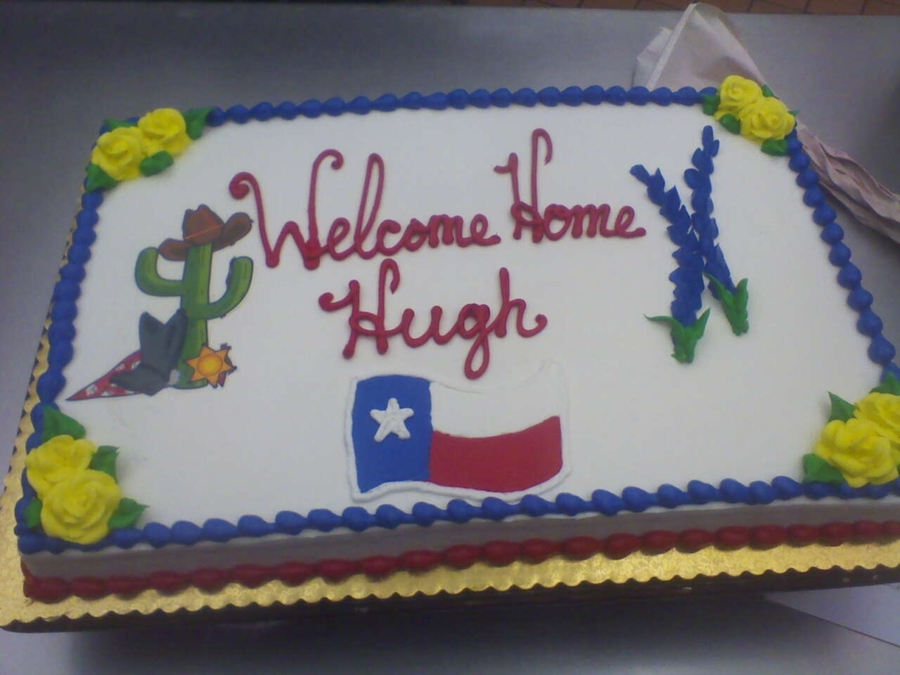 Welcome Home  on Cake Central