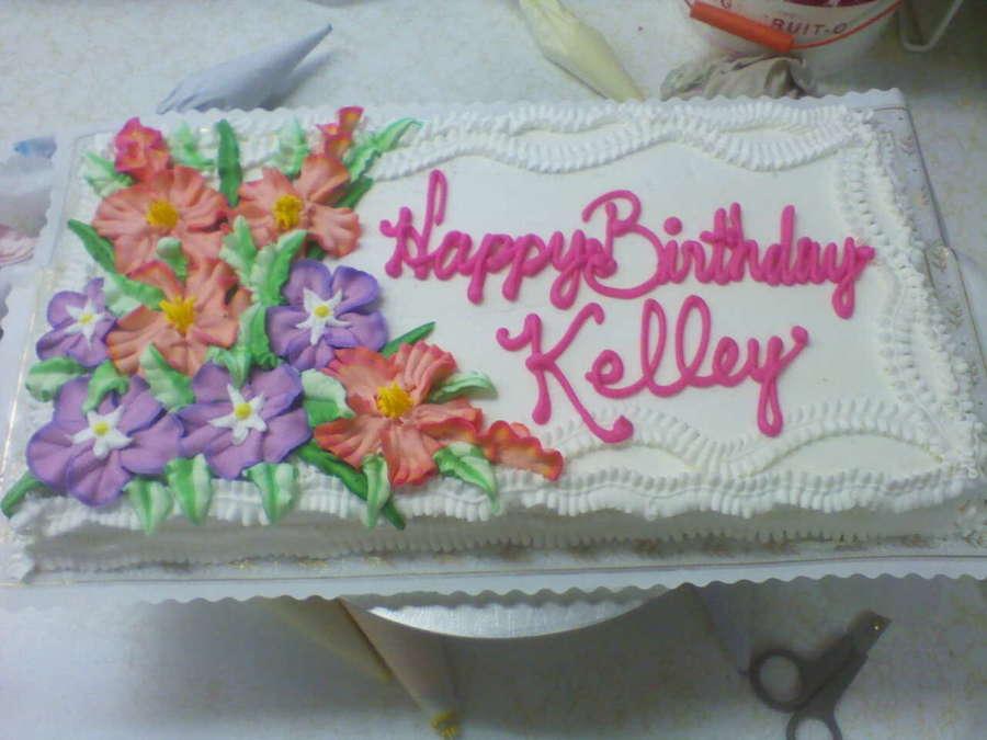 Happy Birthday Kelley Cakecentral Com
