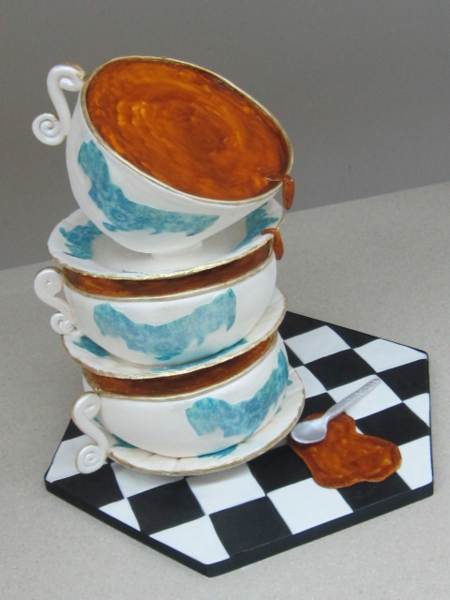 Tea Cups  on Cake Central