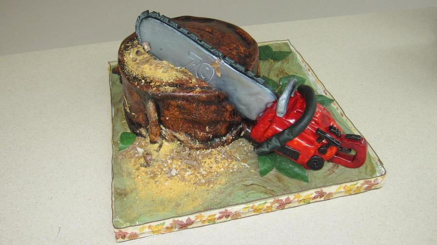 Chainsaw! on Cake Central
