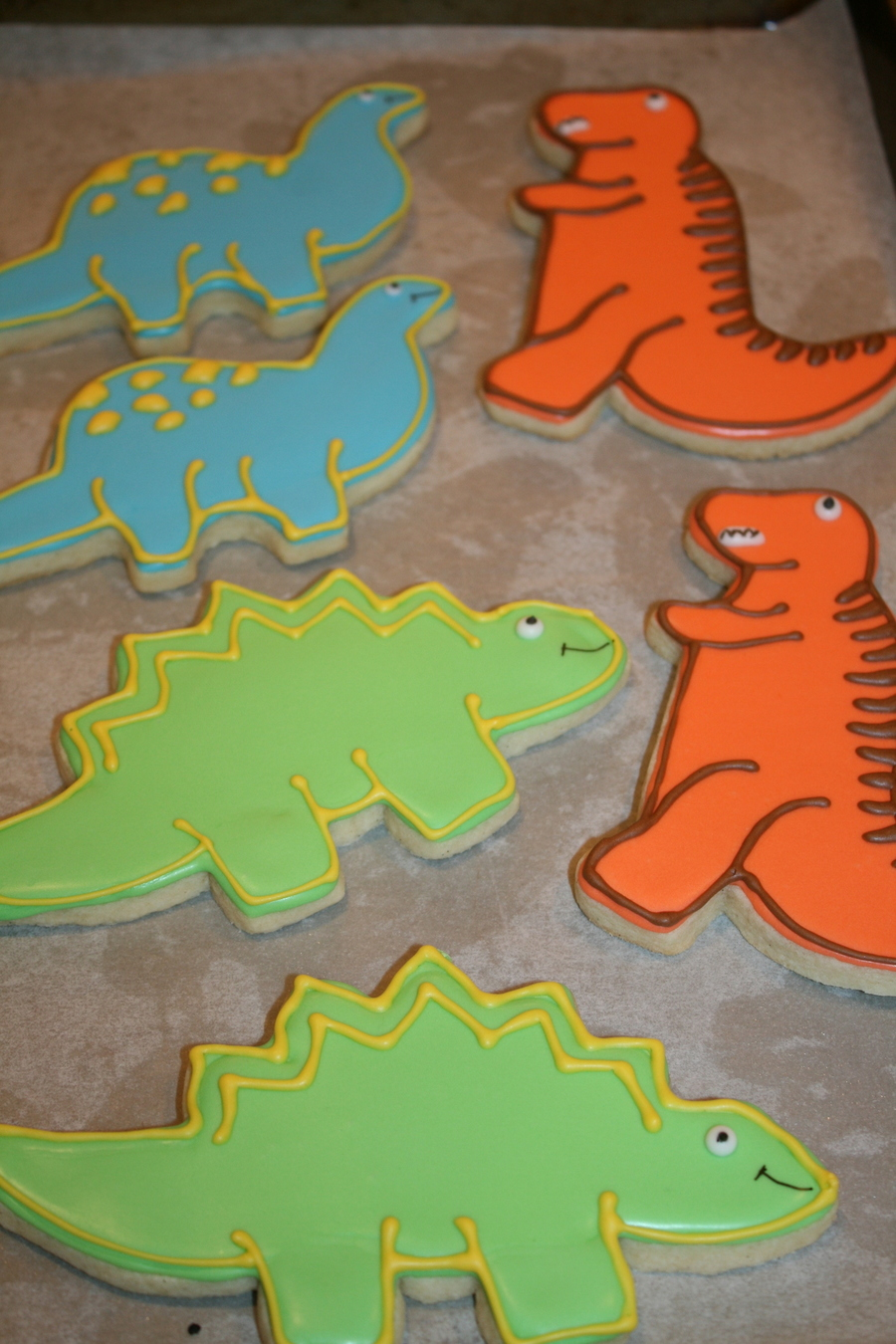 Dinosaur Cookies Cakecentral Com