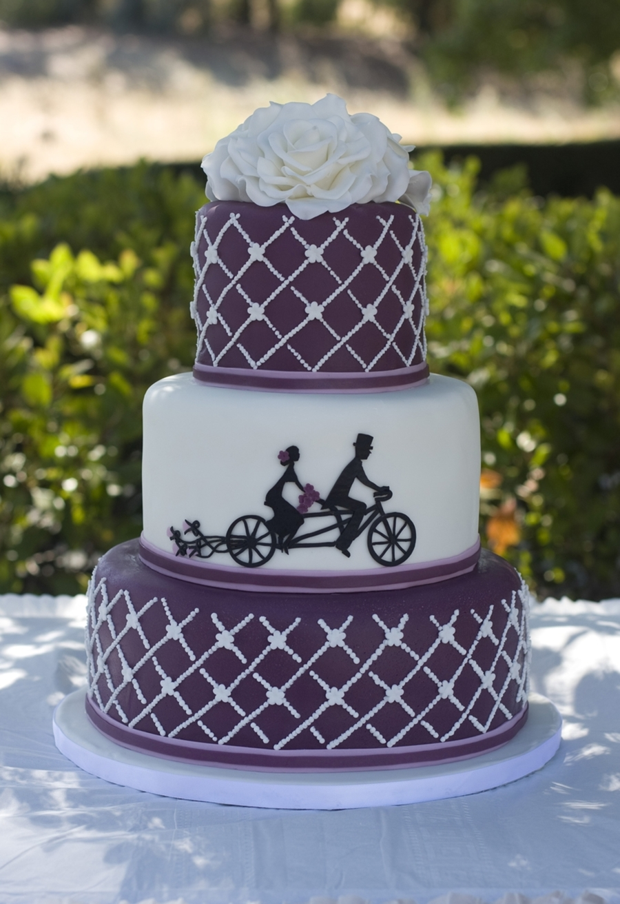 Bicycle Built For Two on Cake Central