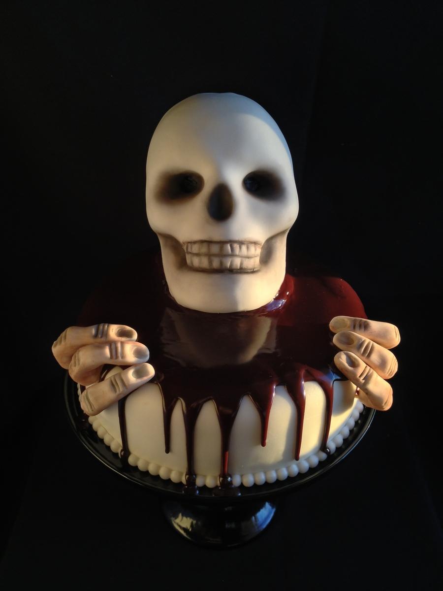 Skull Cake Recipe