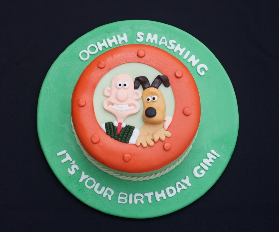 Wallace & Gromit Birthday on Cake Central