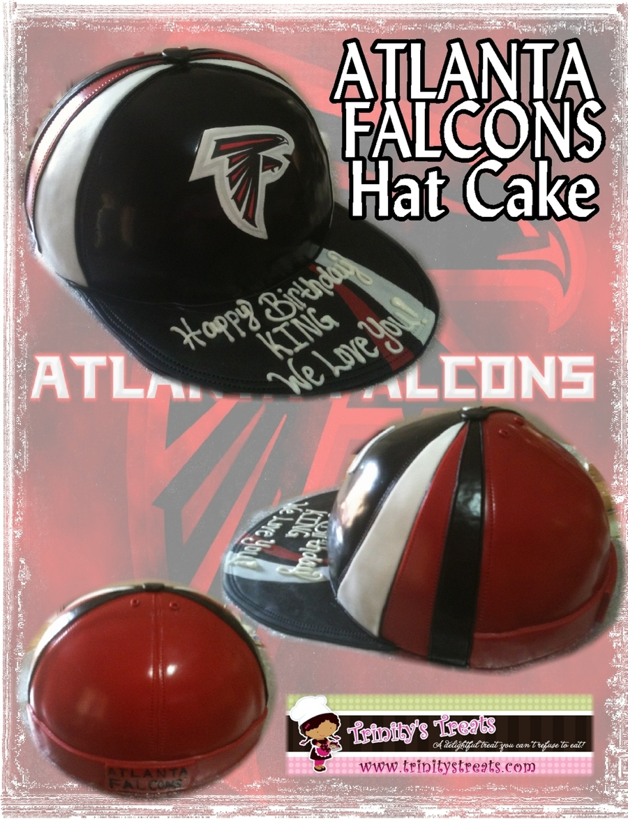 Atlanta Falcons Hat Cake on Cake Central