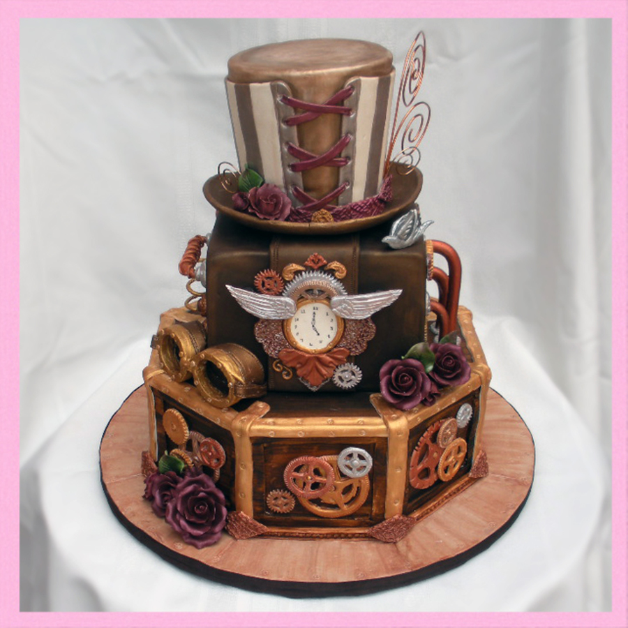 Steampunk Cakes Images