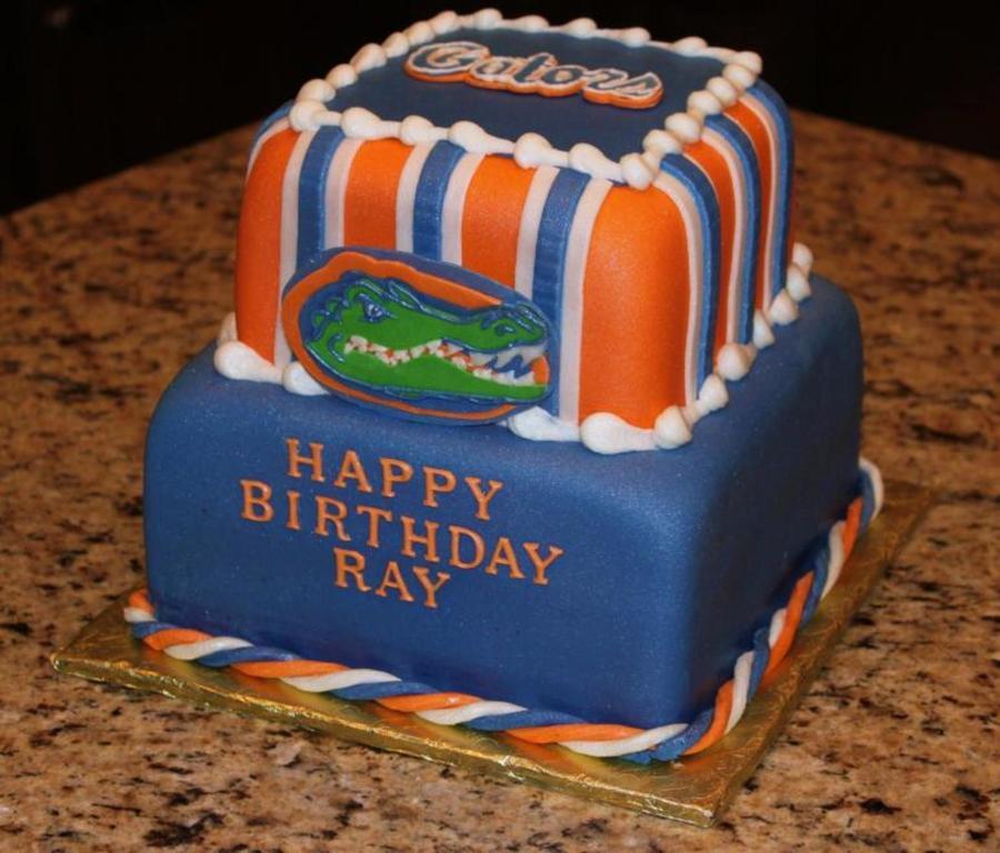 Fl Gators Graduation Cake Cakecentral