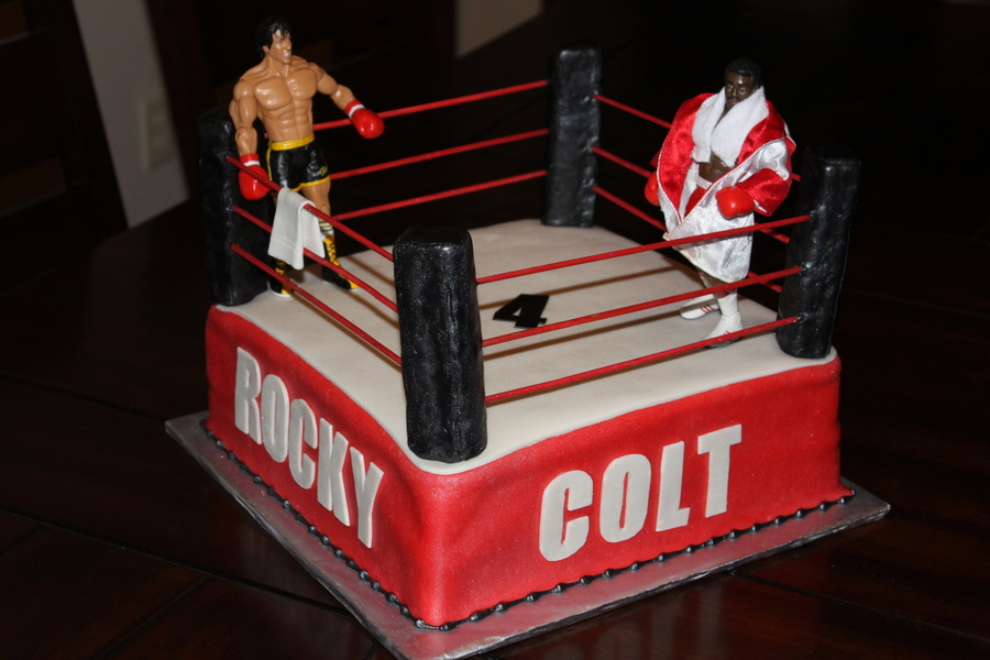 Rocky Apollo Creed Boxing Cake on Cake Central