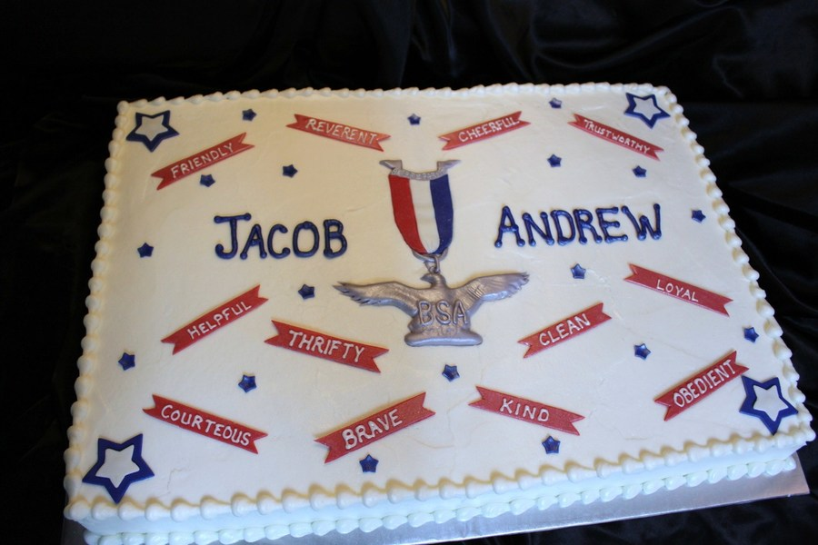 Cake Designs Eagle Scout Court Honor