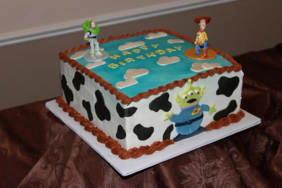 Toy Story Cake Cakecentral Com