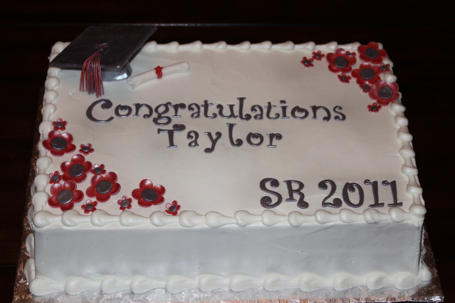 Carl Albert High School Graduation Cake On Central