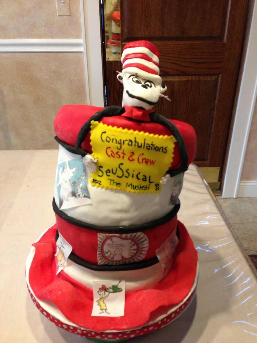 Seussical Cake on Cake Central