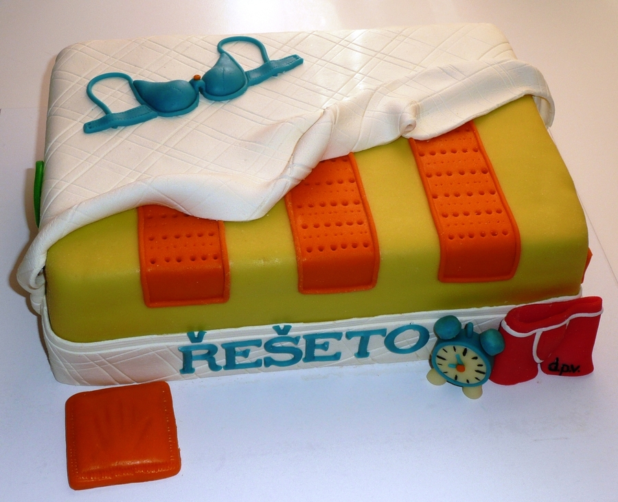 Mattress  on Cake Central