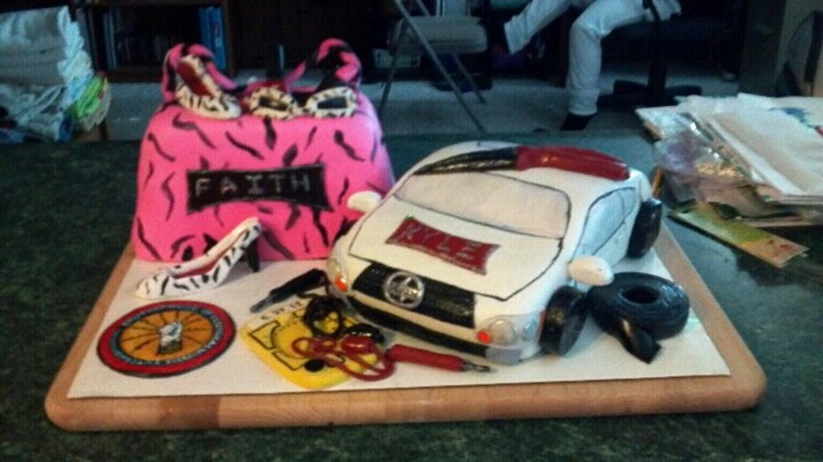 Odd Request For A Sibling Birthday Party 10 Year Old Girl Who Wanted Girly Purse Cake And 19 Boy Of His Scion