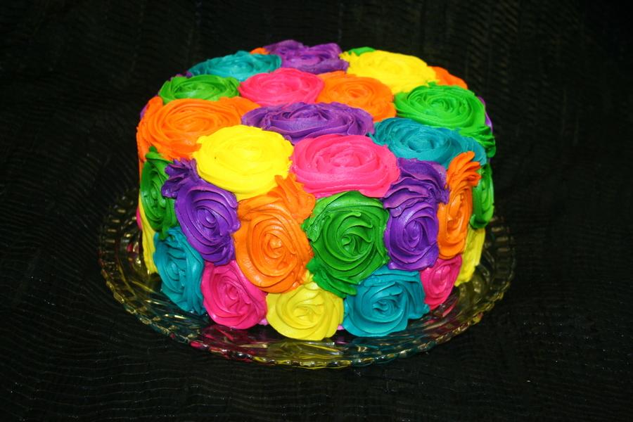 Sensational Rainbow Roses Cakecentral Com Funny Birthday Cards Online Alyptdamsfinfo