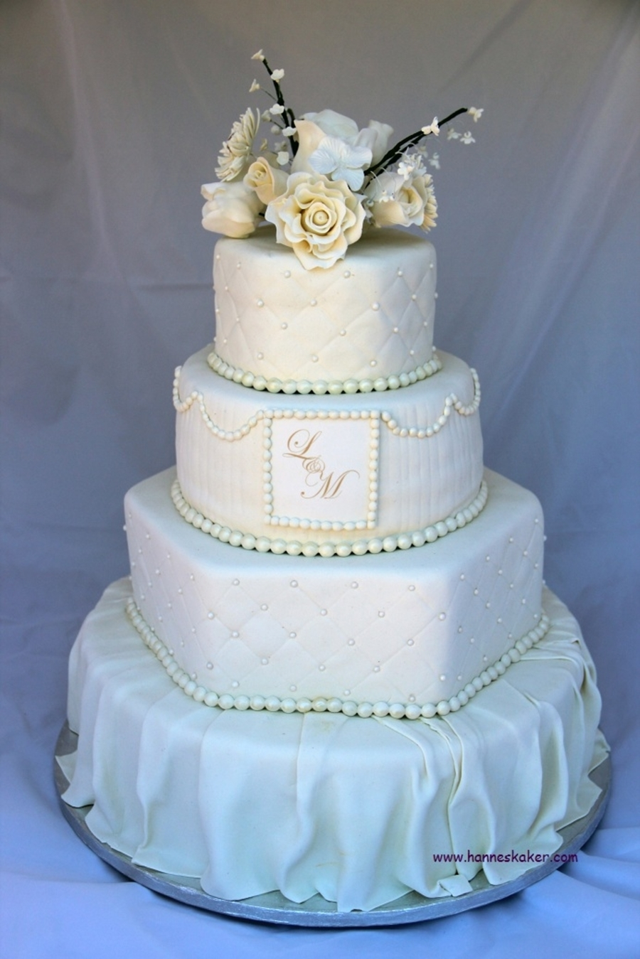 cream wedding cakes pictures wedding cake cakecentral 13067