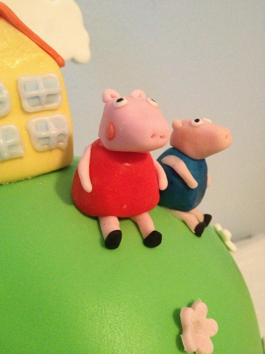 Peppa Pig Cake Pan Wilton