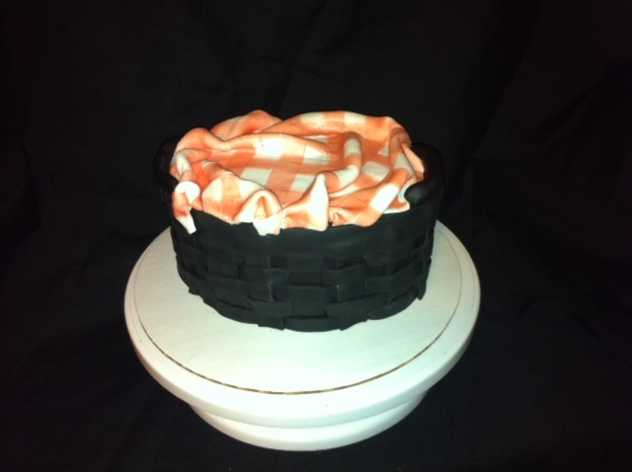 First Basket Cake  on Cake Central