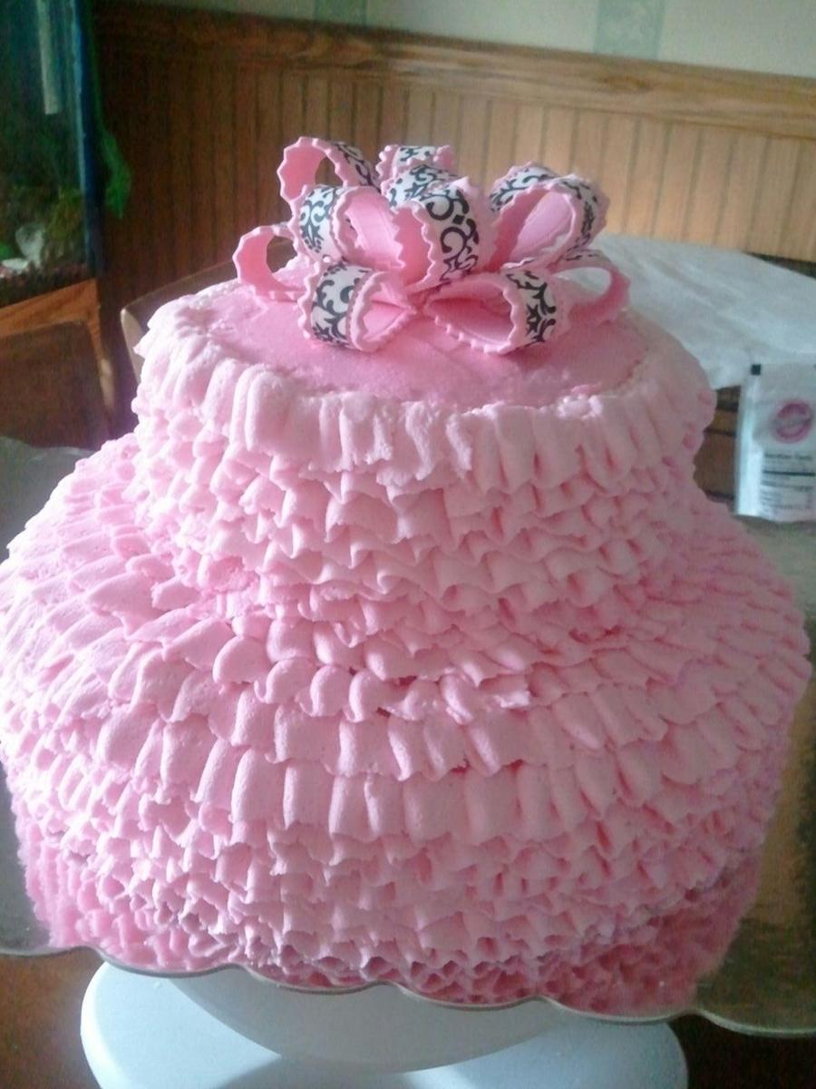 Pink Tutu Cake Cakecentral Com