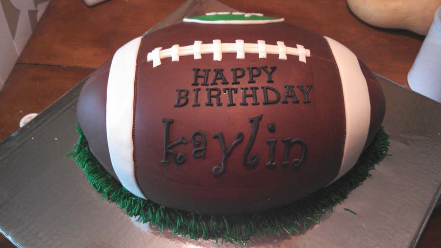 jets football birthday cake
