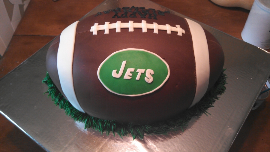 Jets Football Birthday Cake Cakecentral